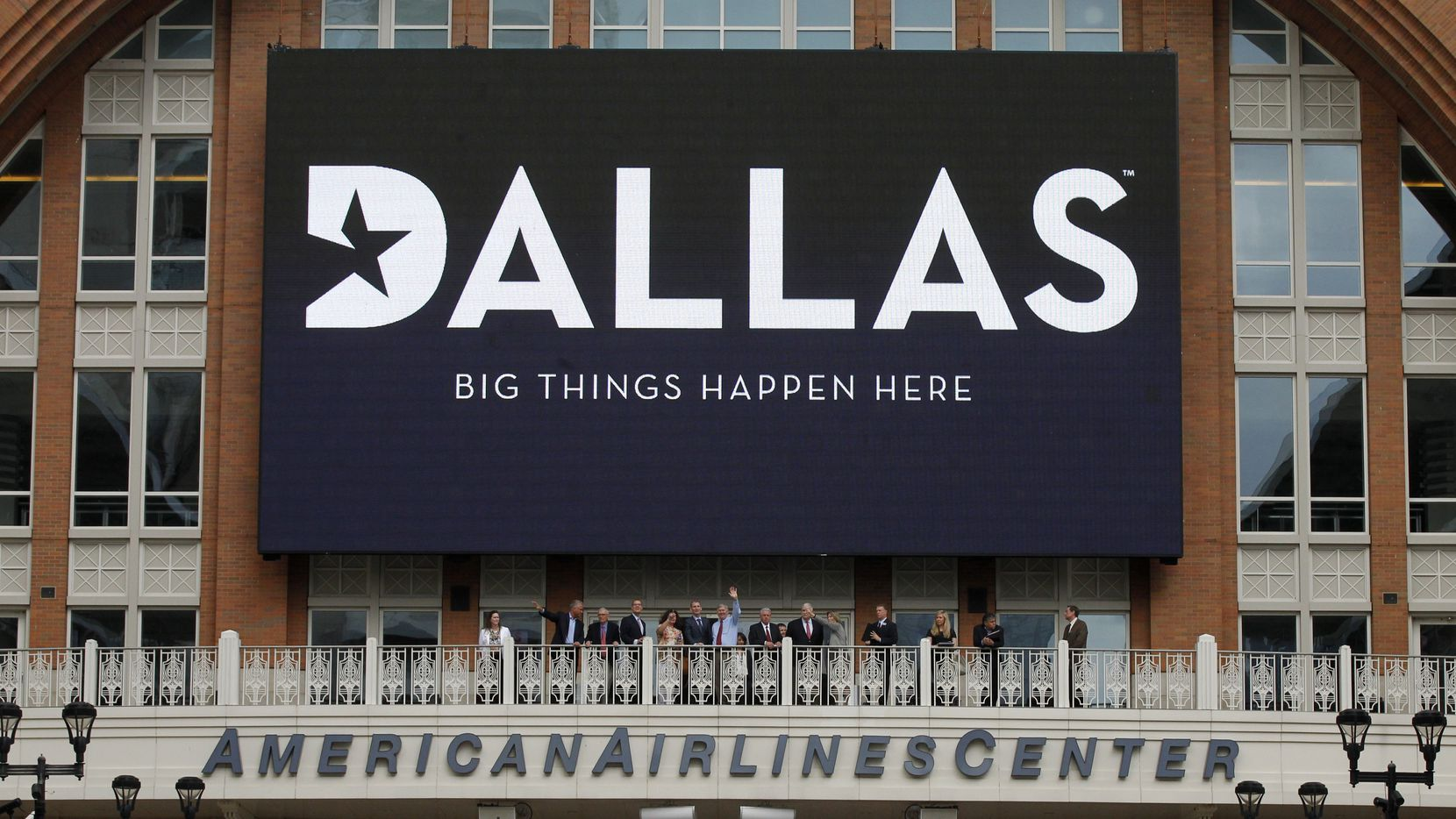 This sign was part of a VisitDallas effort to lure the Republican National Convention to Dallas.