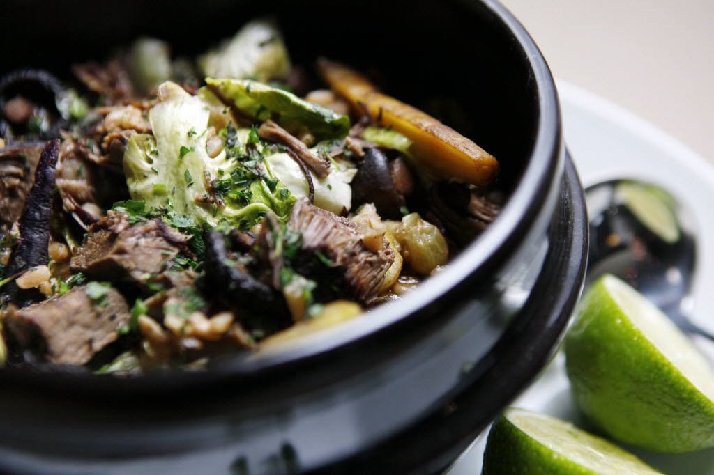 Beef neck clay pot special from Smoke