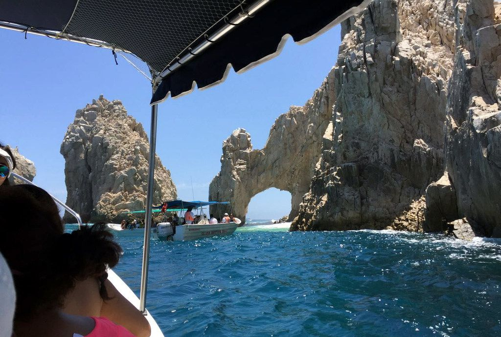 El Arco, an unusual rock formation, is one of the attractions in the sea off Cabos San Lucas.