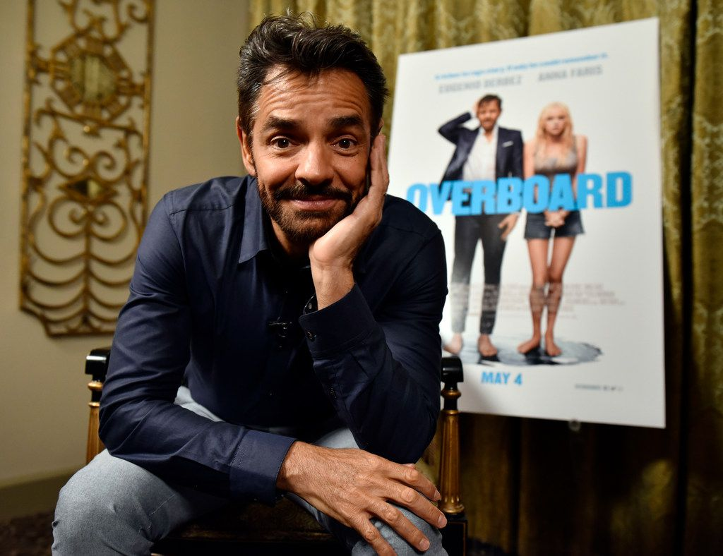 Mexican actor Eugenio Derbez after an interview on his remake of the 1980s romantic comedy Overboard, Tuesday, April 17, 2018 at Hotel ZaZa in Dallas. Ben Torres/Special Contributor