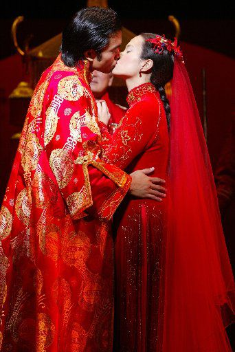 Jose Llana and Lea Salonga in the 2002 Broadway revival of 'Flower Drum Song.' Llana and Salonga performed the roles for Dallas Summer Musicals in 2003.