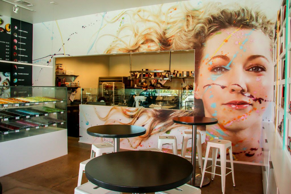 "Kate Weiser's face takes up a big part of the wall at the original shop in Trinity Groves. Will we see it in the new Fort Worth chocolate shop? ""Oh my god, yes,"" she says, laughing. ""That face will follow me."""