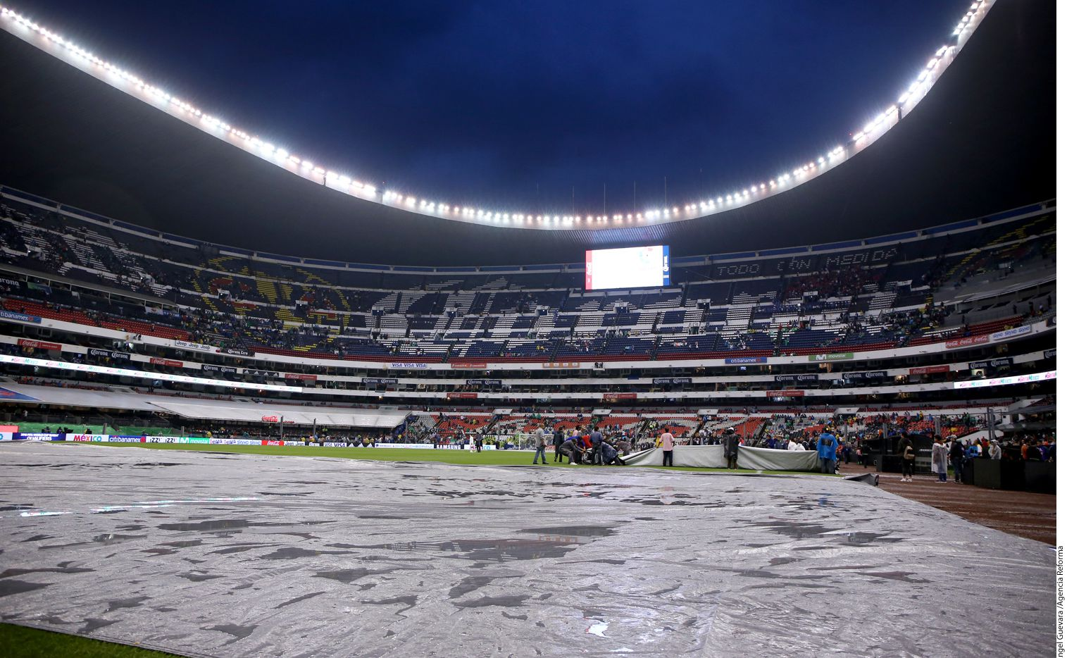 Estadio Azteca/AGENCIA REFORMA
