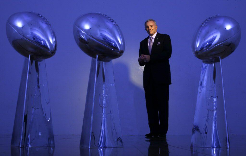 Archivo. Los Cowboys han ganado tres trofeos de Super Bowl desde que Jerry Jones compró el equipo.