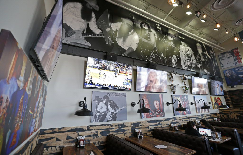Dining area at Rock & Brews in The Colony, Texas, Tuesday, March 8, 2016. (Jae S. Lee/The Dallas Morning News)
