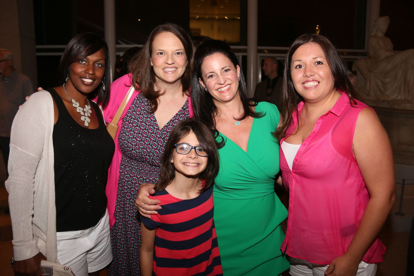 """Rhoni Golden (in the green) performed at Oral Fixation's """"The Best of Season Four"""" at the Dallas Museum of Art on August 15, 2015"""