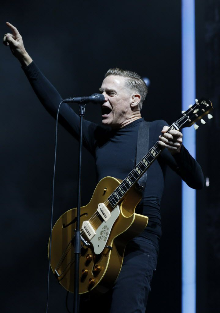 Bryan Adams entertained the near sold-out crowd.