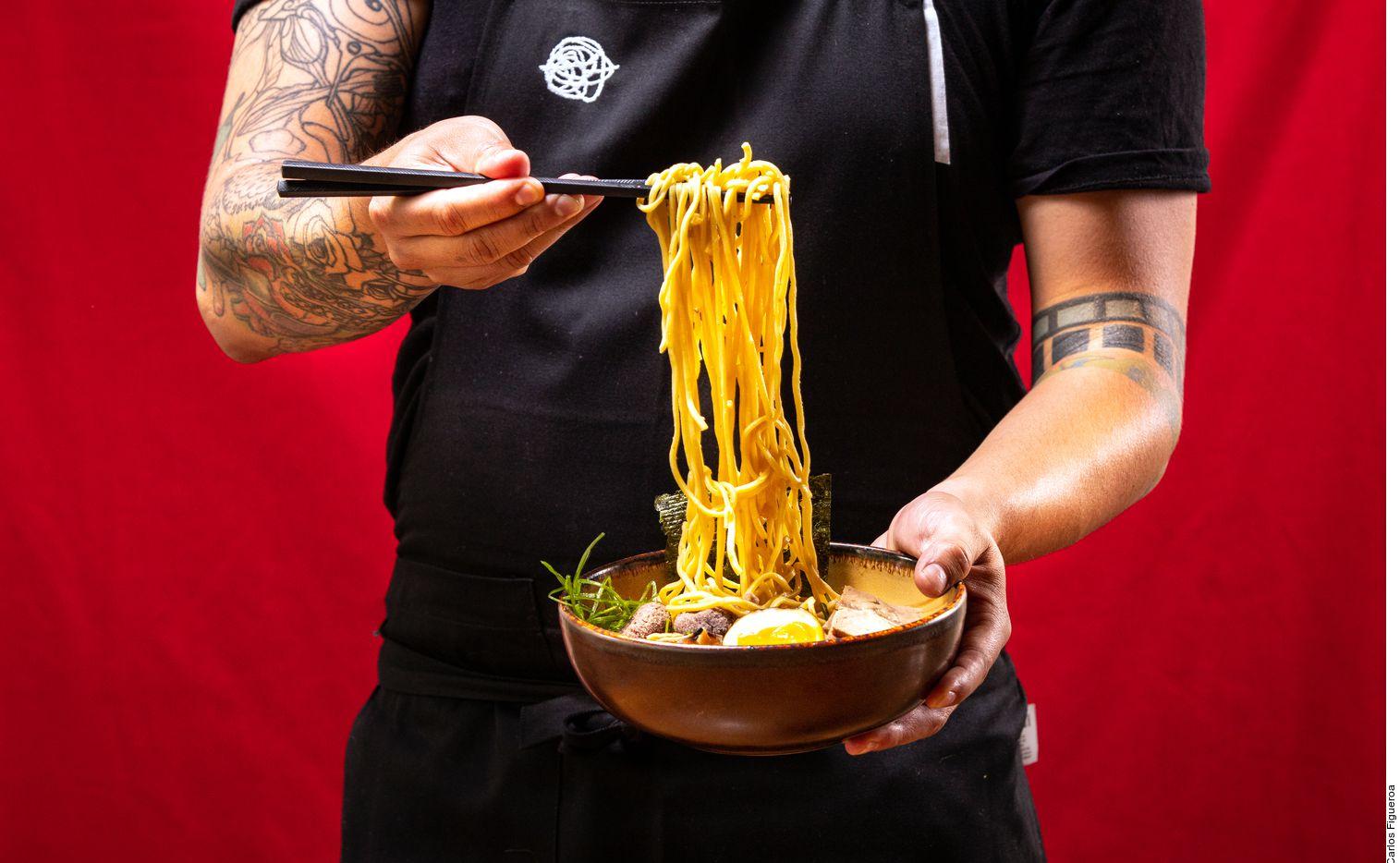 Ingredientes y formas hacen la diferencia entre los tipos de noodles.
