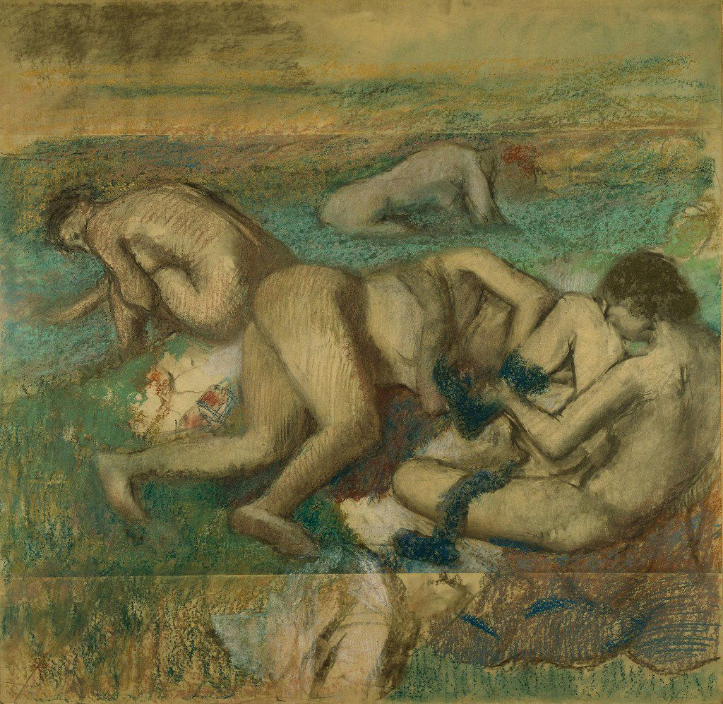 Edgar Degas's The Bathers will be included alongside works by Pierre-Auguste Renoir in an upcoming exhibition at the Kimbell Art Museum.