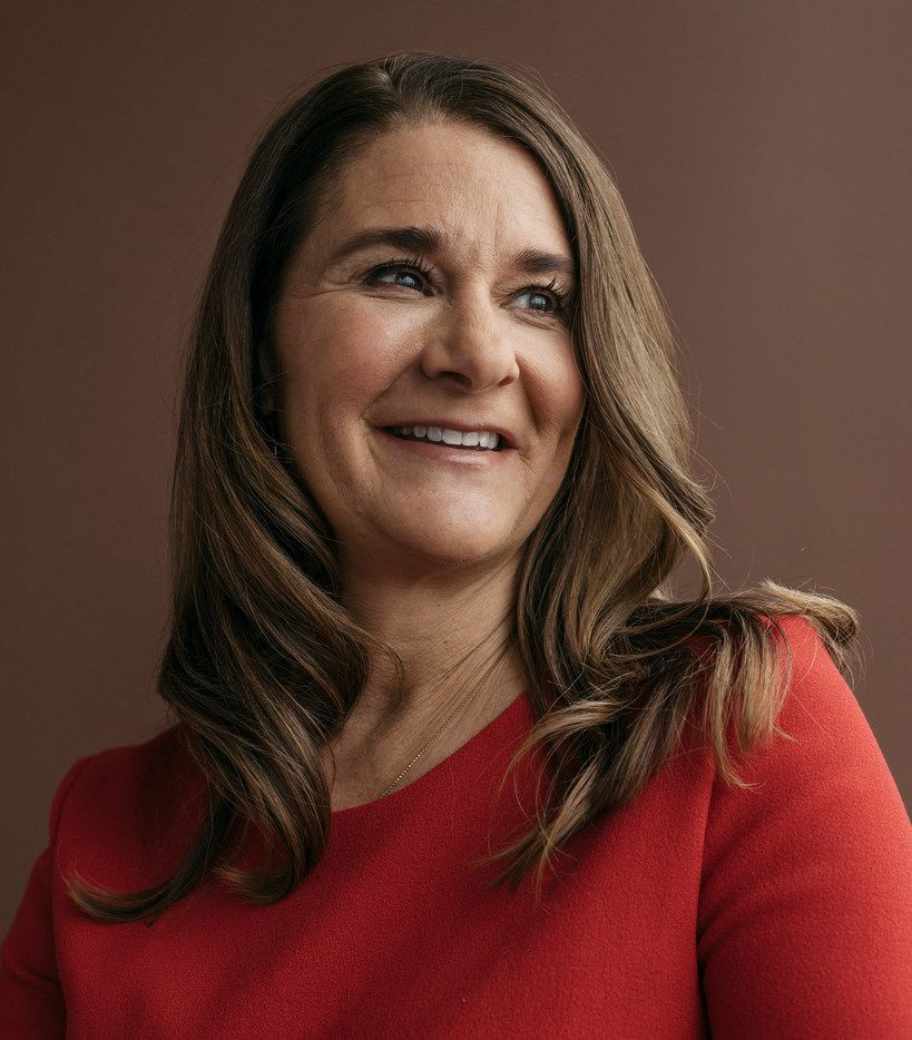 Melinda Gates in Kirkland, Wash., Feb. 1, 2018. In their annual update for the Gates Foundation, which has given away well over $41 billion since its inception in 2000, the Gates's say that they remain optimistic about the world's progress, but that President Trump's policies could hurt their philanthropic efforts. (Kyle Johnson/The New York Times)