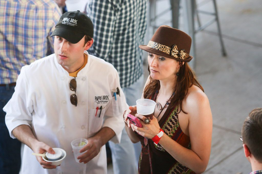 Foodies and football fans alike attended Taste of the NFL on Sunday at AT&T Stadium.