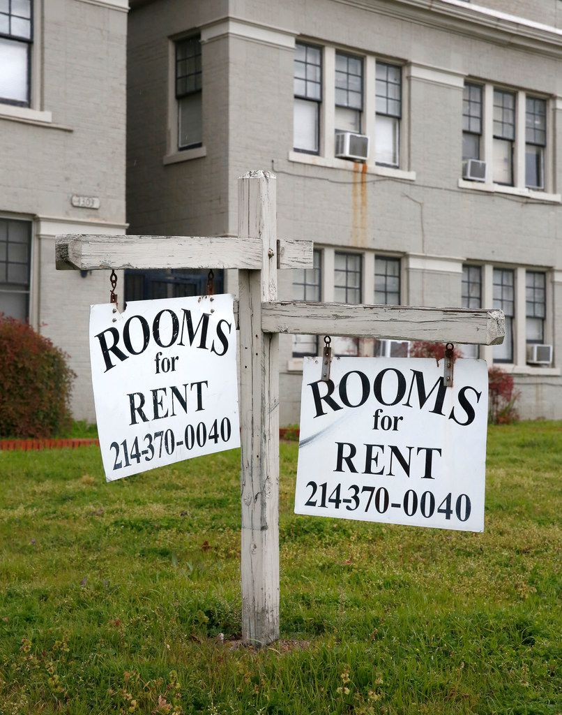 Rooming and boarding houses are disappearing as house