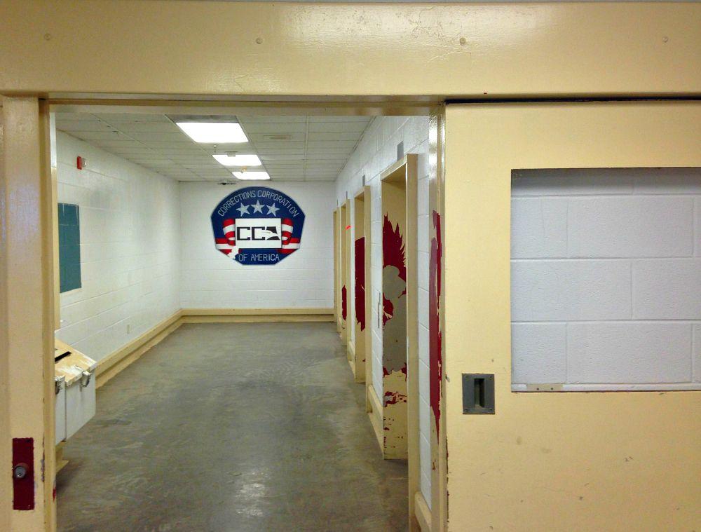 Inside Dawson, a reminder of its former operator
