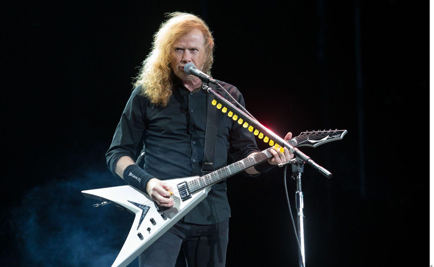Dave Mustaine, de Megadeth, reveló tiene cáncer de garganta. Foto Agencia Reforma