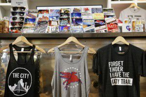 Bullzerk prints all of its T-shirts at its Lower Greenville store. (Andy Jacobsohn/The Dallas Morning News)