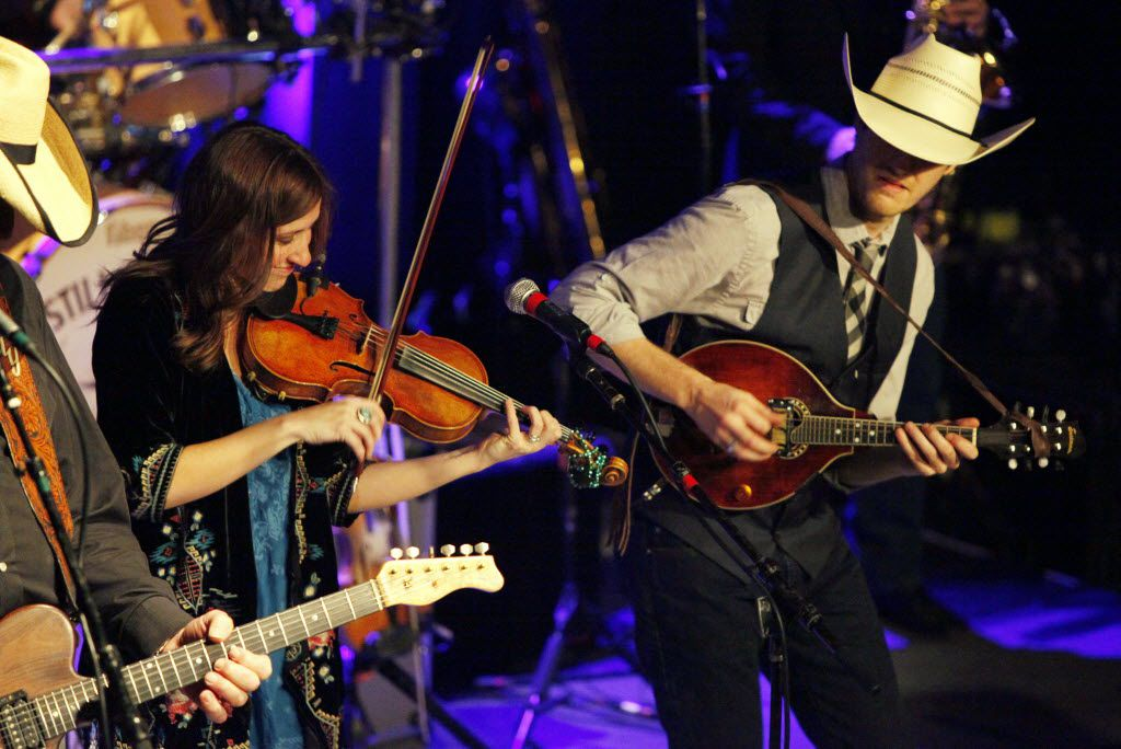 American Country music group Asleep at the Wheel perform during a matinee show, on Sunday, Jan. 24, 2016 at the Kessler Theater in Dallas.