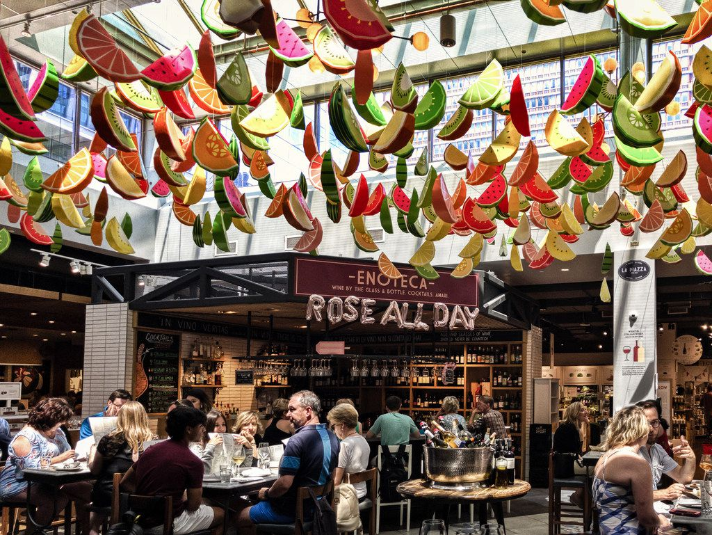 Eataly Las Vegas, like Eataly Boston (pictured), will feature several restaurants within its 40,000-square-foot space.