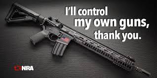 """Controlaré mis propias armas, gracias"". Así respondió NRA a marcha de estudiantes. Foto: Twitter"