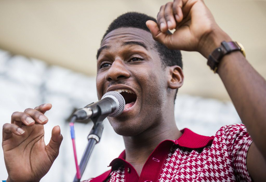 Leon Bridges packed the Spotify House at South by Southwest in Austin on Wednesday. (All photos by Ashley Landis/The Dallas Morning News)