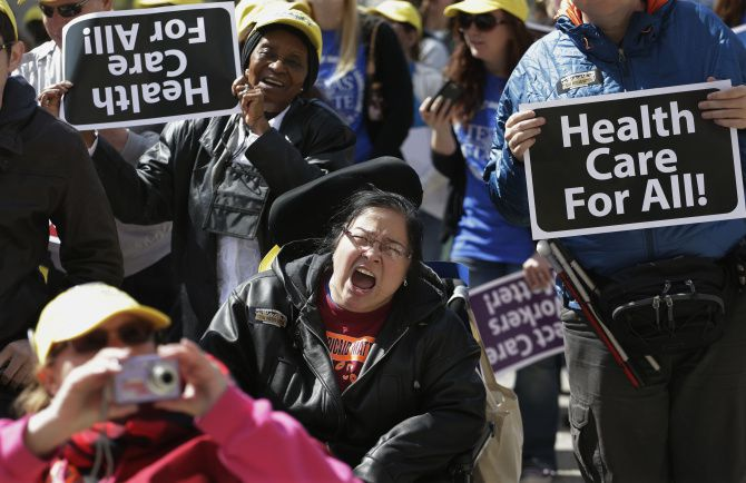 Last year, a demonstration at the Texas Capitol called for lawmakers to expand Medicaid. They didn't, which some believe has added to the state's insurance challenges.