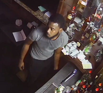 Surveillance footage shows the man who broke into two Camp Bowie West Boulevard restaurants July 23.