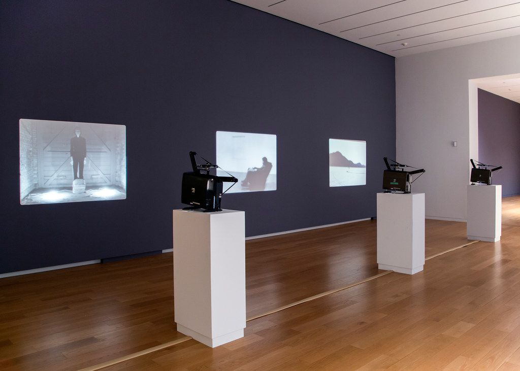 """Films by Bas Jan Ader and Jack Goldstein are projected at a current exhibition at the Modern titled """"Disappearing — California, c. 1970."""""""