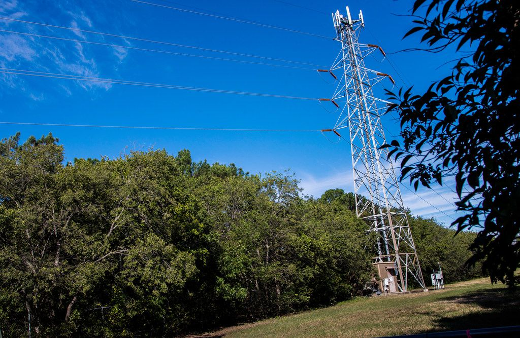 Oncor plans to replace all transmission towers on easement at Forest Lane and Dallas North Tollway in Dallas.