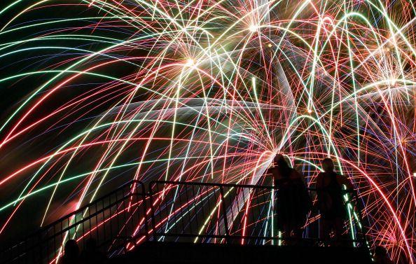 Fireworks en el Norte de Texas. Foto GETTY IMAGES