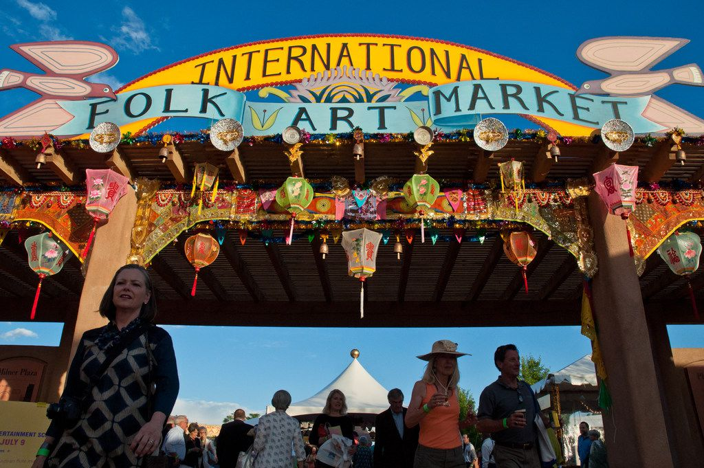 International Folk Art Market grounds