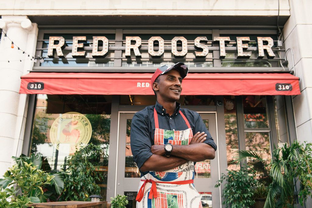 At Harlem's Red Rooster, celebrity chef Marcus Samuelsson accents soul food with elements of his Swedish upbringing —  cornbread with lingonberry butter, for example.
