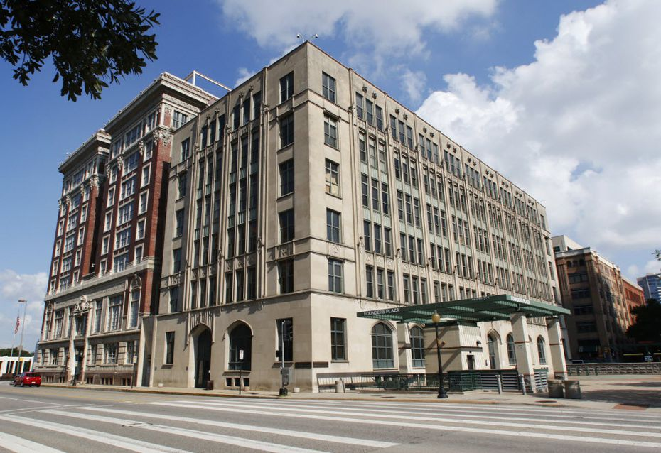 The Dallas County Records Building on Dealey Plaza will be renovated in a $138 million project beginning in September.