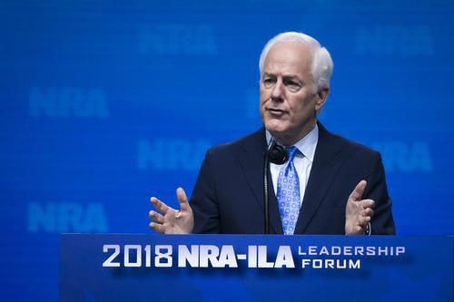 El senador John Cornyn criticó la demanda de Texas que busca dar fin al programa DACA. (DMN/SMILEY POOL)