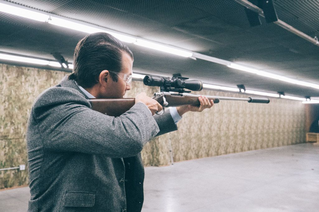 Like many members of Texas' congressional delegation, Donald Trump Jr. is a high-profile advocate for reduced waiting periods for gun silencers. (SilencerCo)