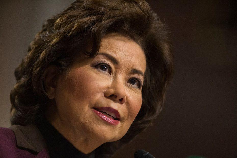 Transportation Secretary Elaine Chao. (AP Photo/Zach Gibson, File)