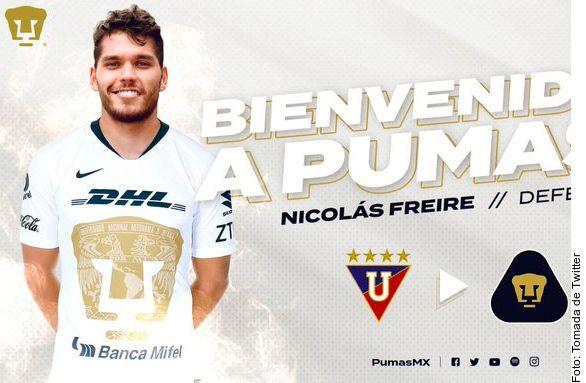 Nicolás Freire es el último refuerzo de los Pumas.
