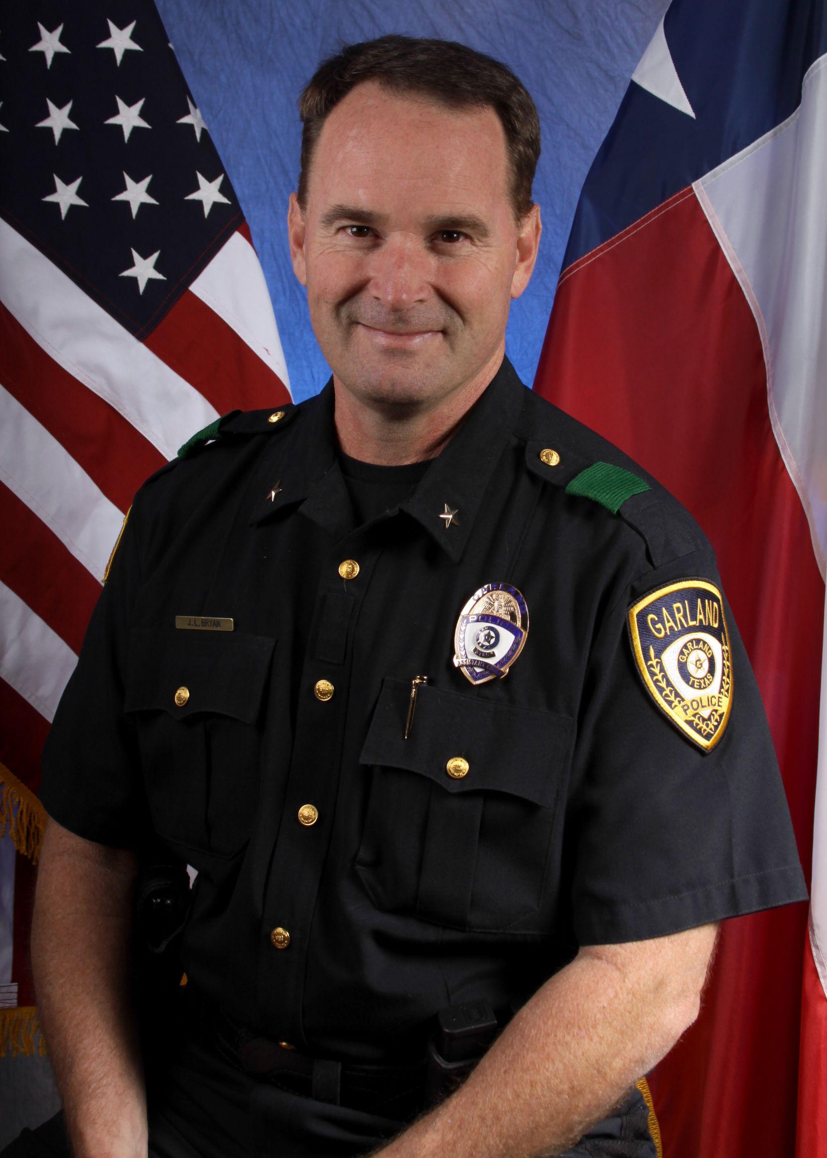 Jeff Bryan, subjefe de la policía de Garland, ha sido parte del departamento de policía de Garland por los últimos 22 años. (Cortesía: City of Garland)