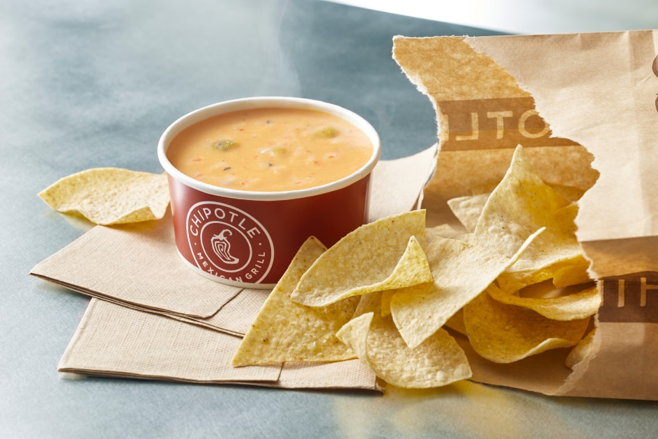 Chipotle will begin offering queso at all locations nationwide on Sept. 12, 2017.