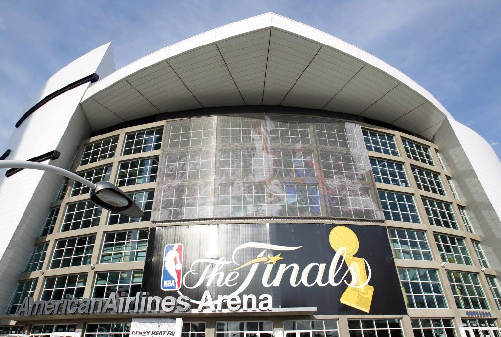 AmericanAirlines Arena is the home of the Miami Heat basketball team. AA got double exposure in 2006 and 2011 when the Heat met the Mavs in the NBA Finals, with all games being played in arenas named for the company. The Mavs won the series in Miami.