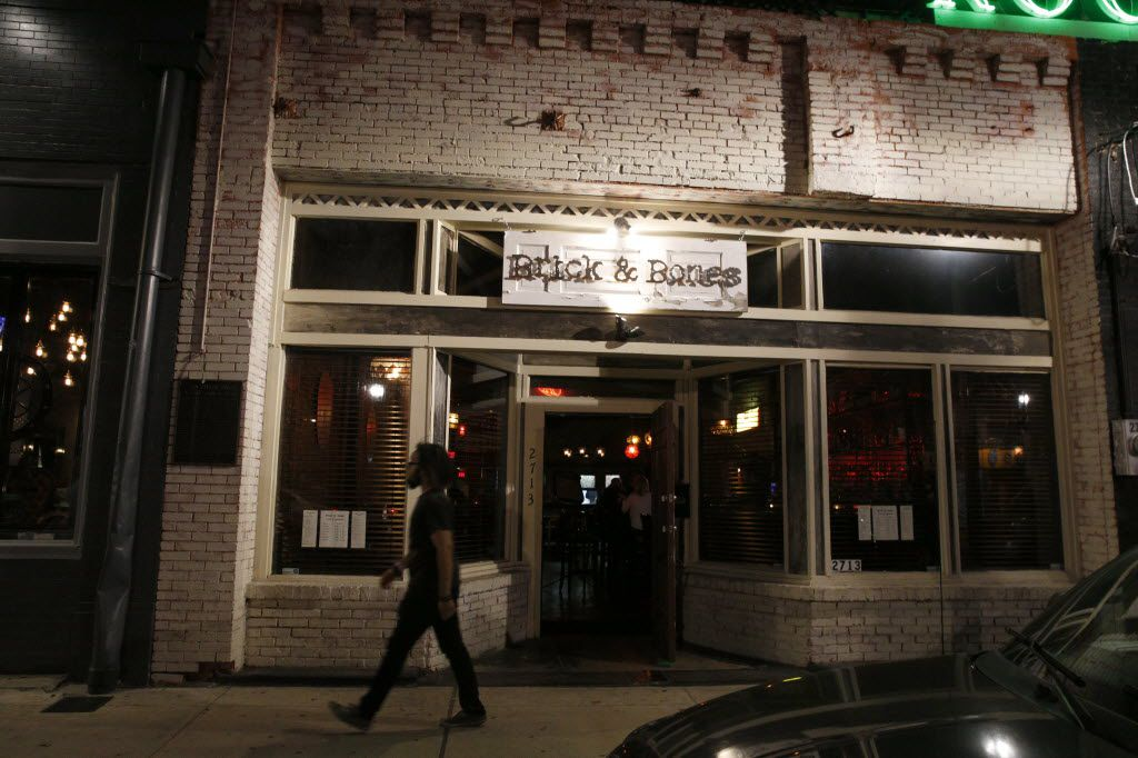 Brick and Bones' Deep Ellum facade