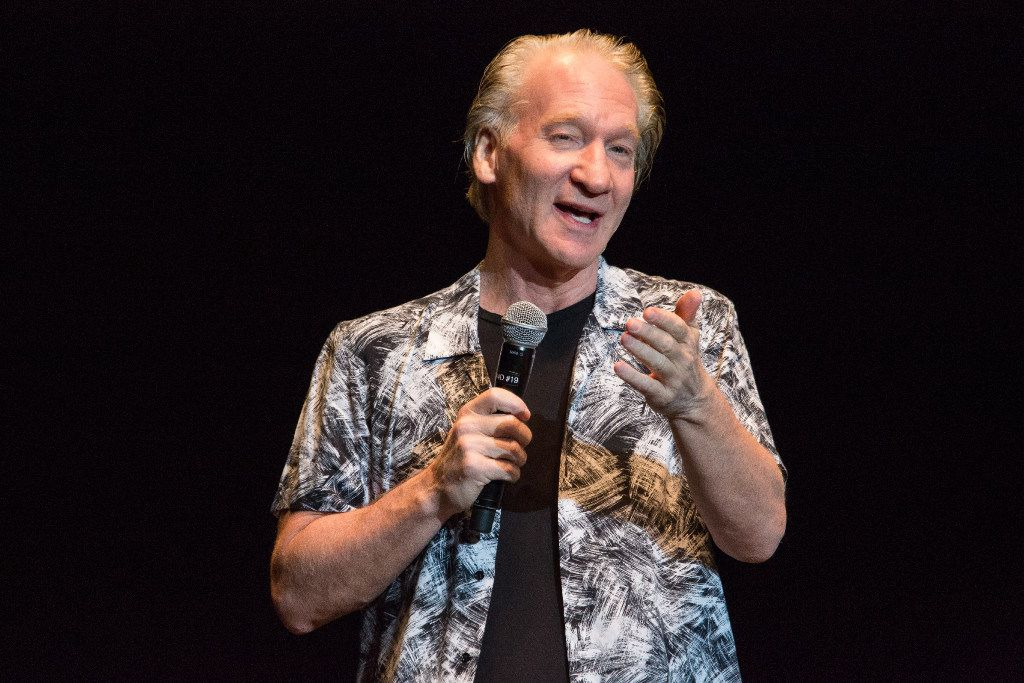 Comedian Bill Maher entertains a sold-out crowd at Fair Park Music Hall in Dallas on Sunday night, April 30, 2017.