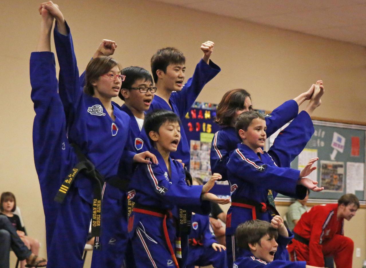 Allen taekwondo team earns a spot at national championship