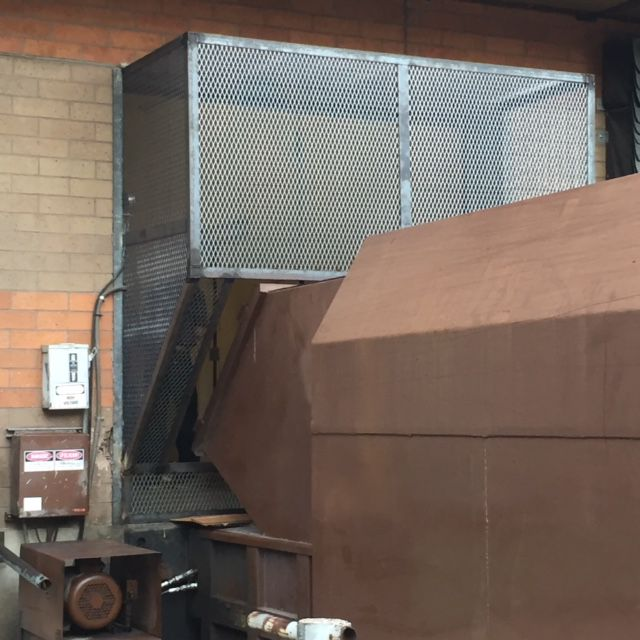 After an Oct. 19 escape, the Dallas County Sheriff's Department  affixed a metal cage to the trash compactor this week.