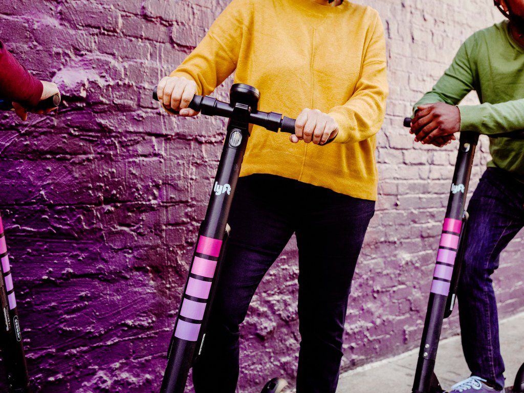 Lyft is rolling out its scooters in Dallas. The ride-hailing company is starting with 350 scooters and may add more, depending on demand.