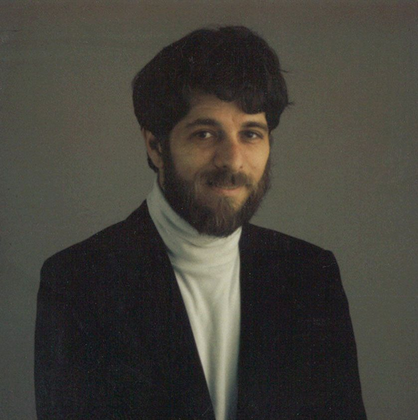 Jeffrey Weiss at The Dallas Morning News, approximately 1997.