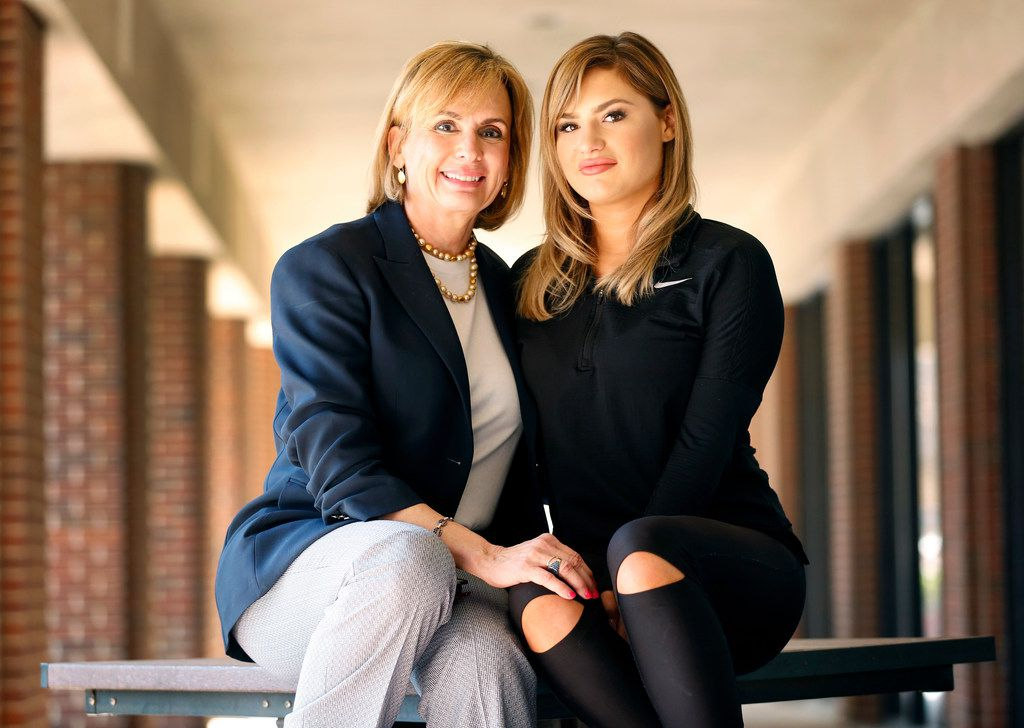 Attorney Charla Aldous (left) represented Isabella Fletcher, who just won a $32 million verdict against former North Texas high school football players who she said raped her when she was 14.