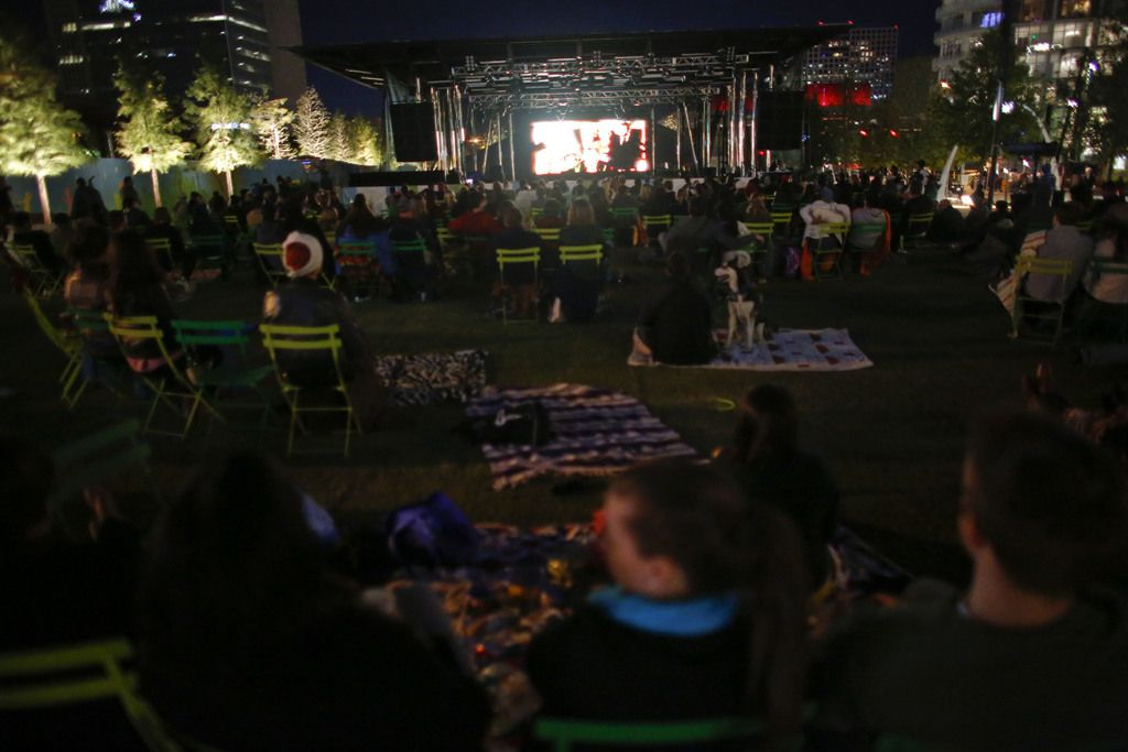 El programa 2019 Summer Movie Series inicia este sábado 15 de junio en el Klyde Warren Park de Dallas. (Christian Randolph/The Dallas Morning News)