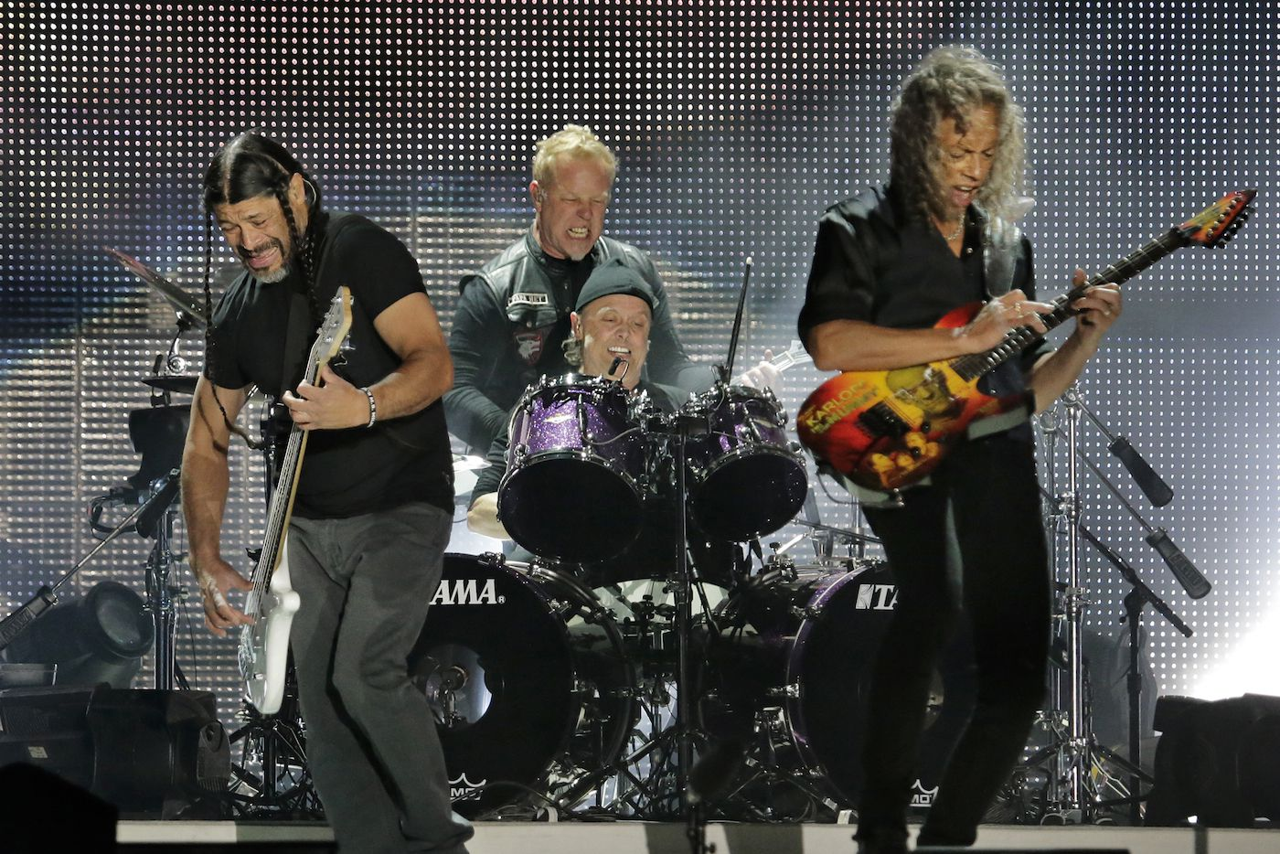 Concierto de Metallica en el estadio Lincoln Financial Field, en Filadelfia.