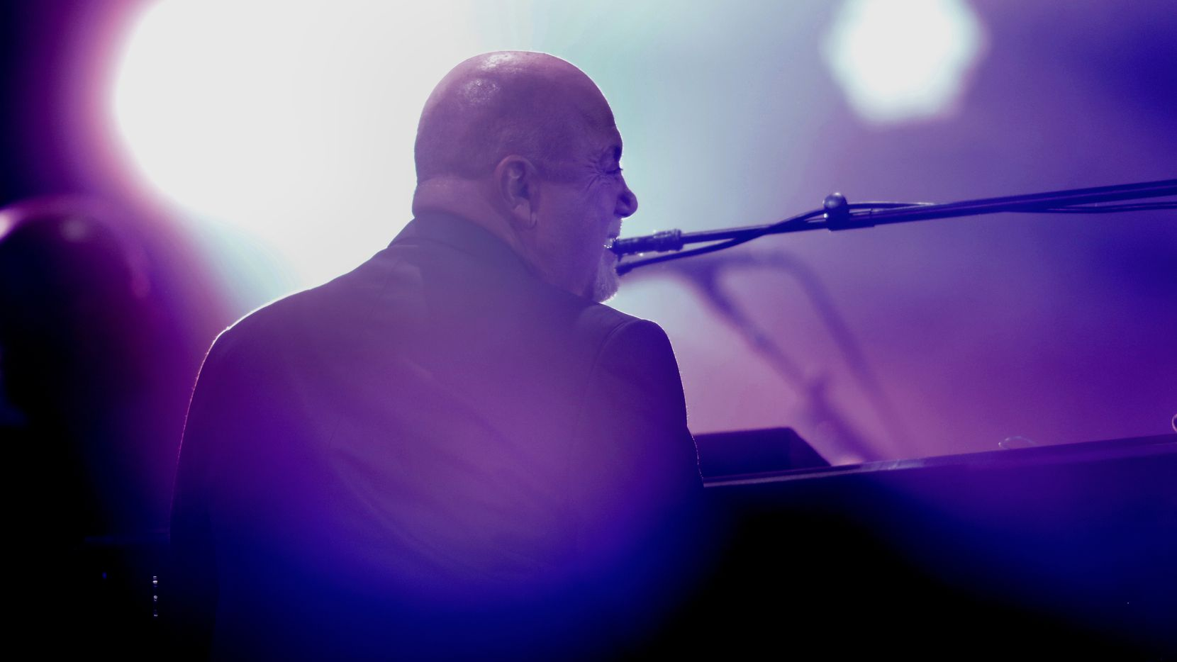 Billy Joel performed to the delight of fans at Globe Life Park in Arlington on Oct. 12, 2019.