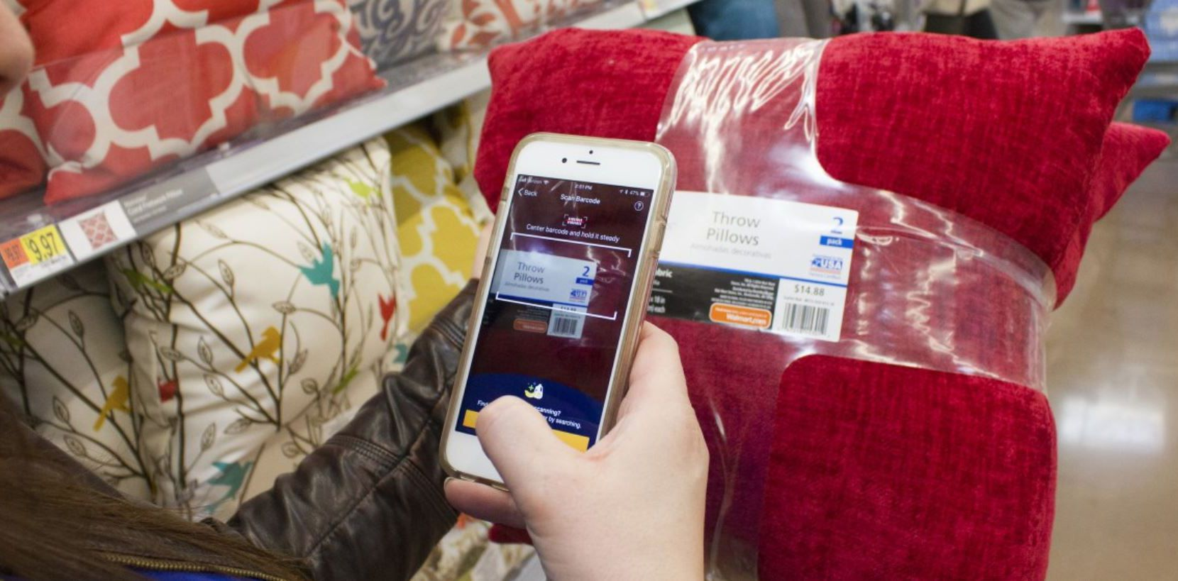 Walmart said Wednesday that had ended its Scan & Go scan-as-you-shop service after a test in several stores, including in Dallas-Fort Worth.