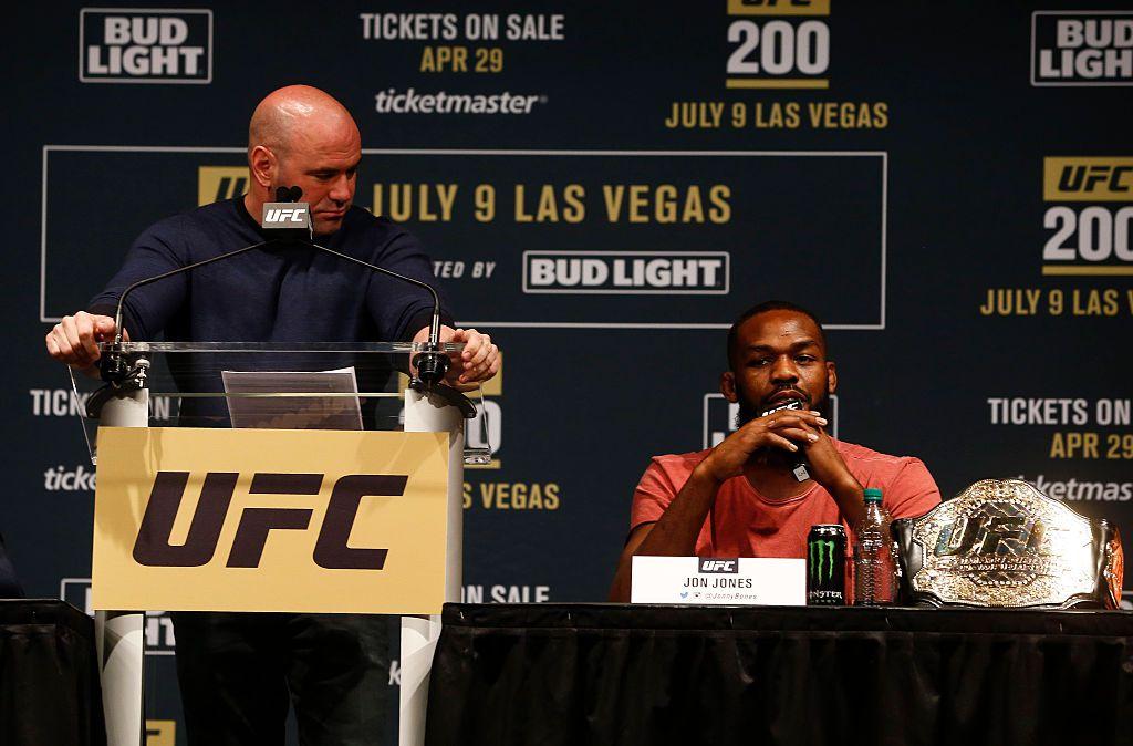 Jon Jones tenía meses promoviendo su combate de este fin de semana en UFC 200. Foto GETTY IMAGES
